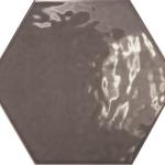 Hexatile Dark Grey Glossy